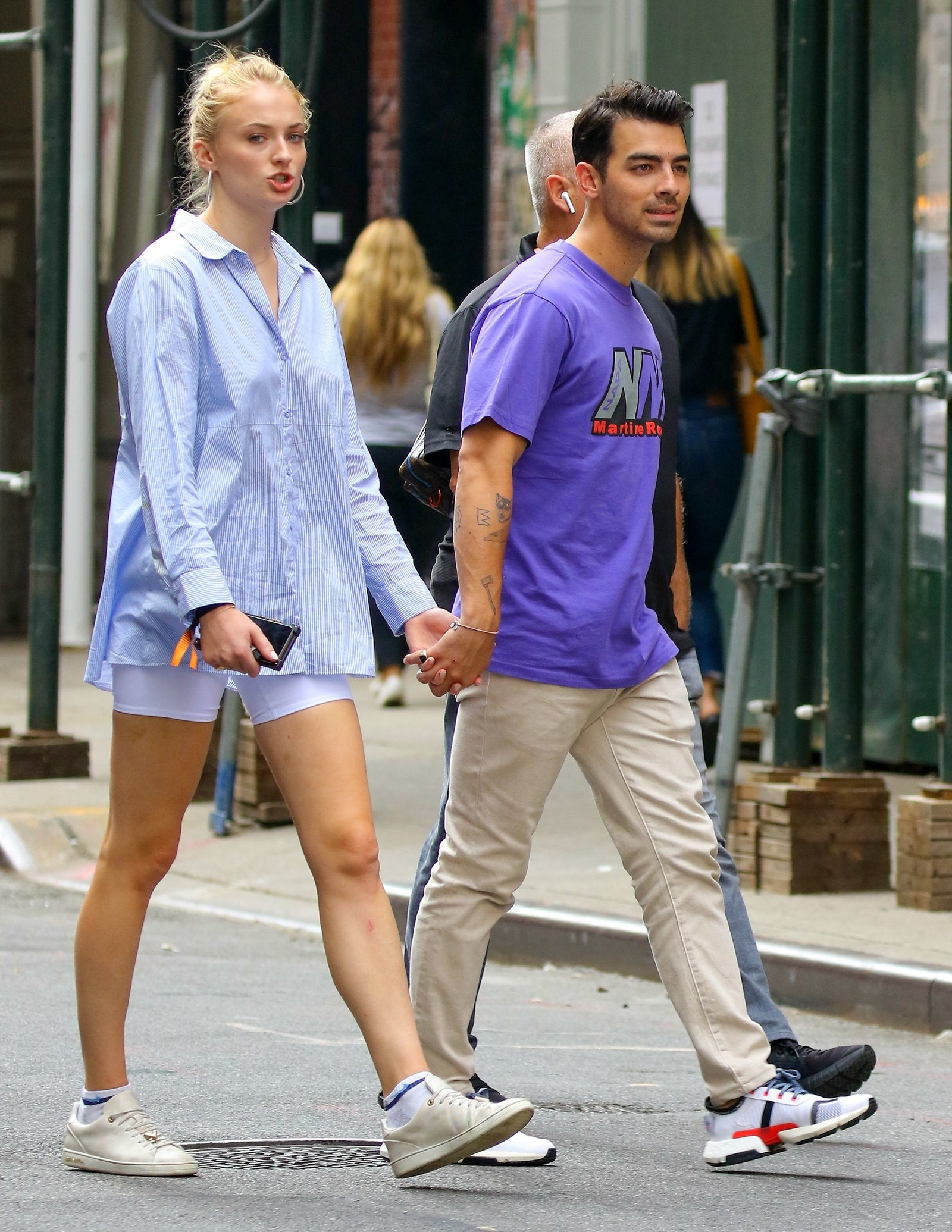 Joe Jonas and Sophie Turner out and about New York
