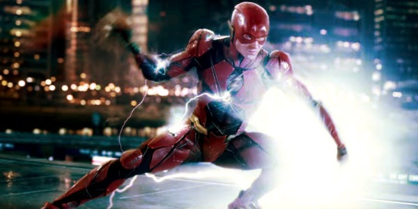 Justice League The Flash charges up his running attack