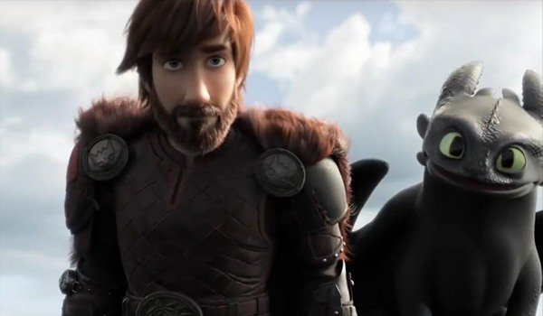 How To Train Your Dragon: The Hidden World Hiccup and dragon