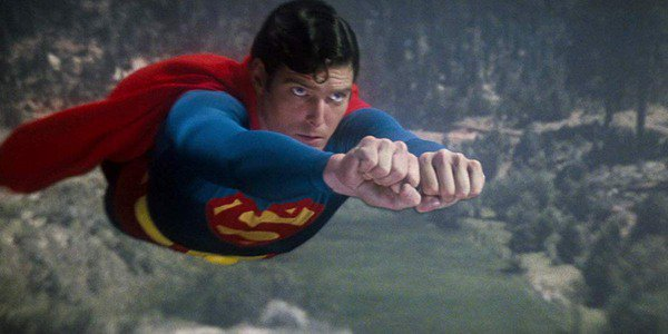 Christopher Reeve as Superman 1978 movie