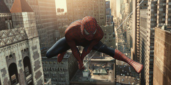 Tobey Maguire Spider-Man 2, New York City swing