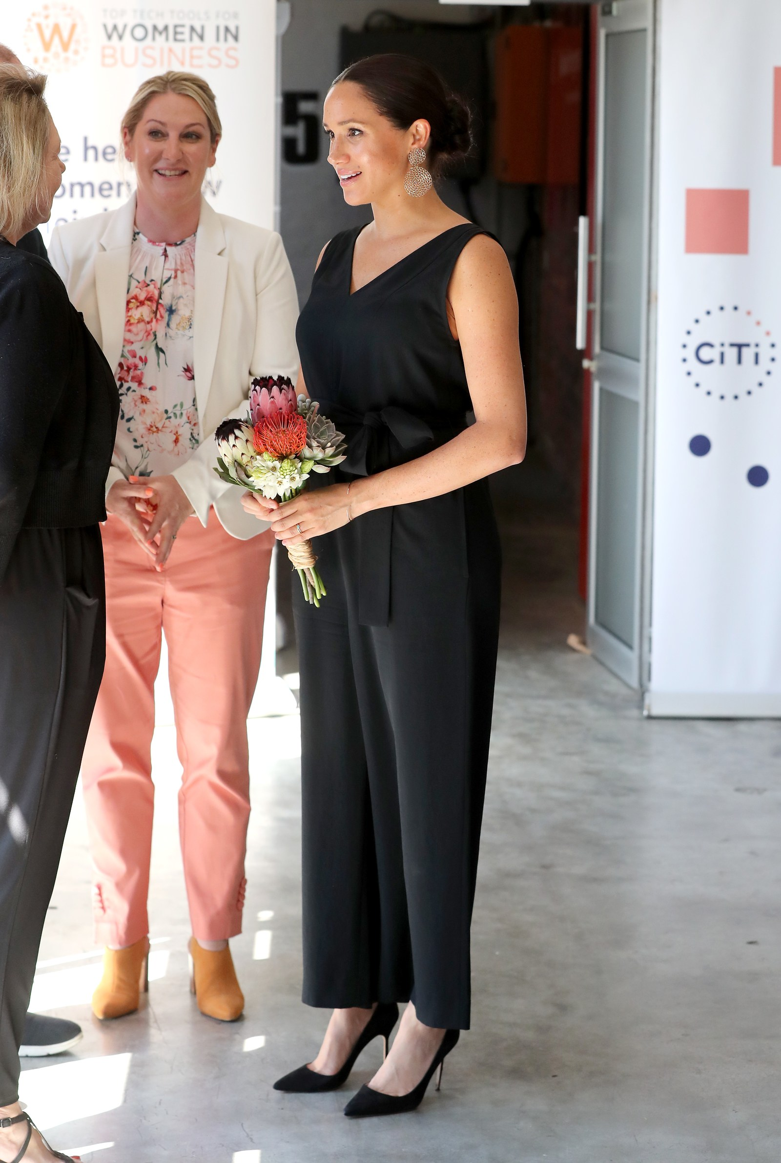 Meghan Markle at an engagement in South Africa