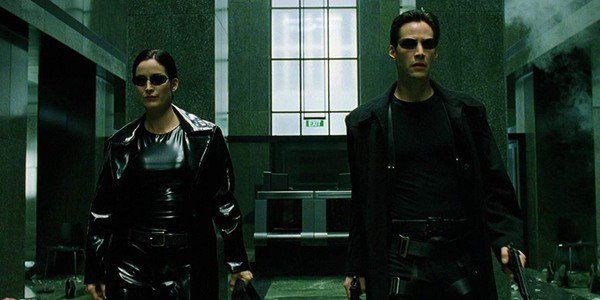Carrie-Anne Moss, Keanu Reeves - The Matrix