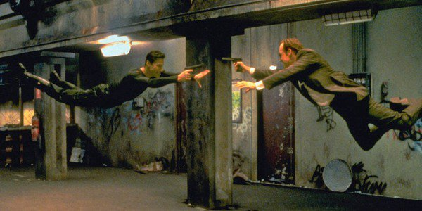 Keanu Reeves, Hugo Weaving - The Matrix