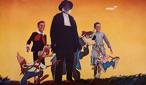 Song Of The South Uncle Remus, the kids, and the animals stand on a hill