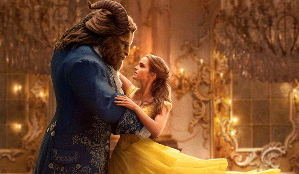 Beauty and The Beast Belle and The Beast dance in the ballroom