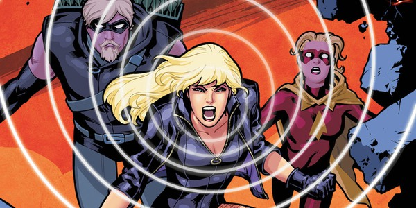 Black Canary and Green Arrow in comics