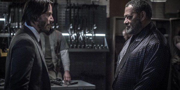 Keanu Reeves, Laurence Fishburne - John Wick: Chapter Two