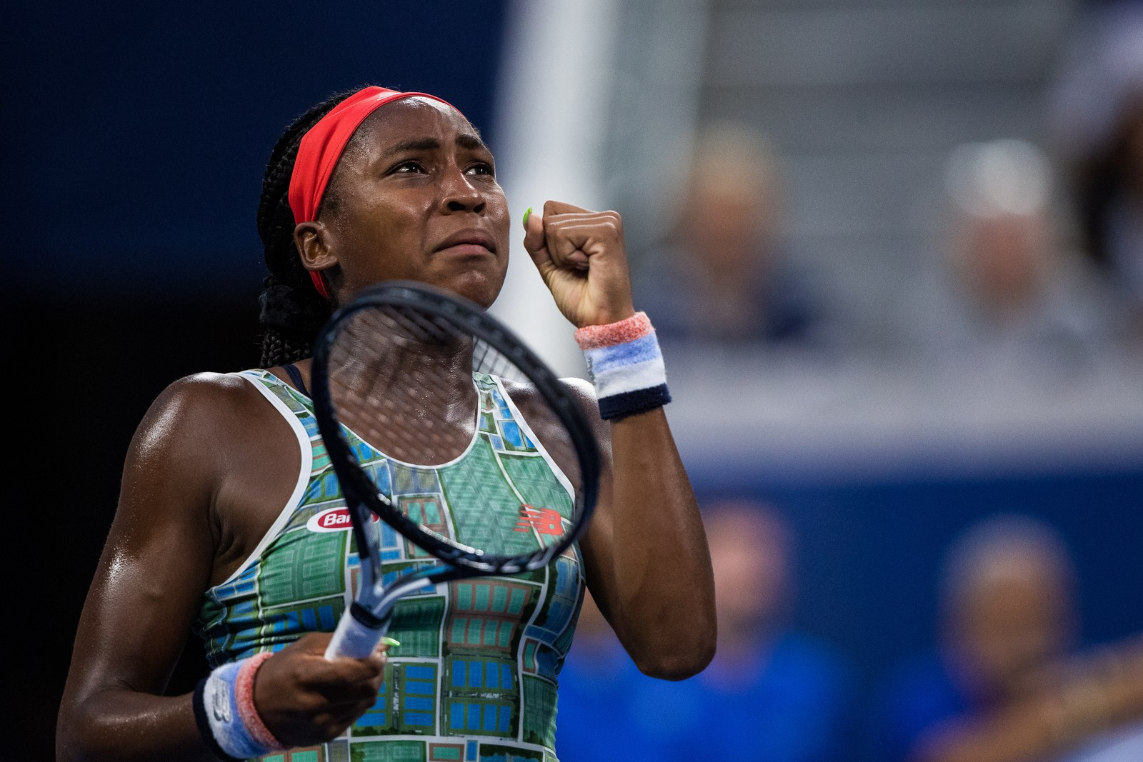 Coco Gauff at the US Open