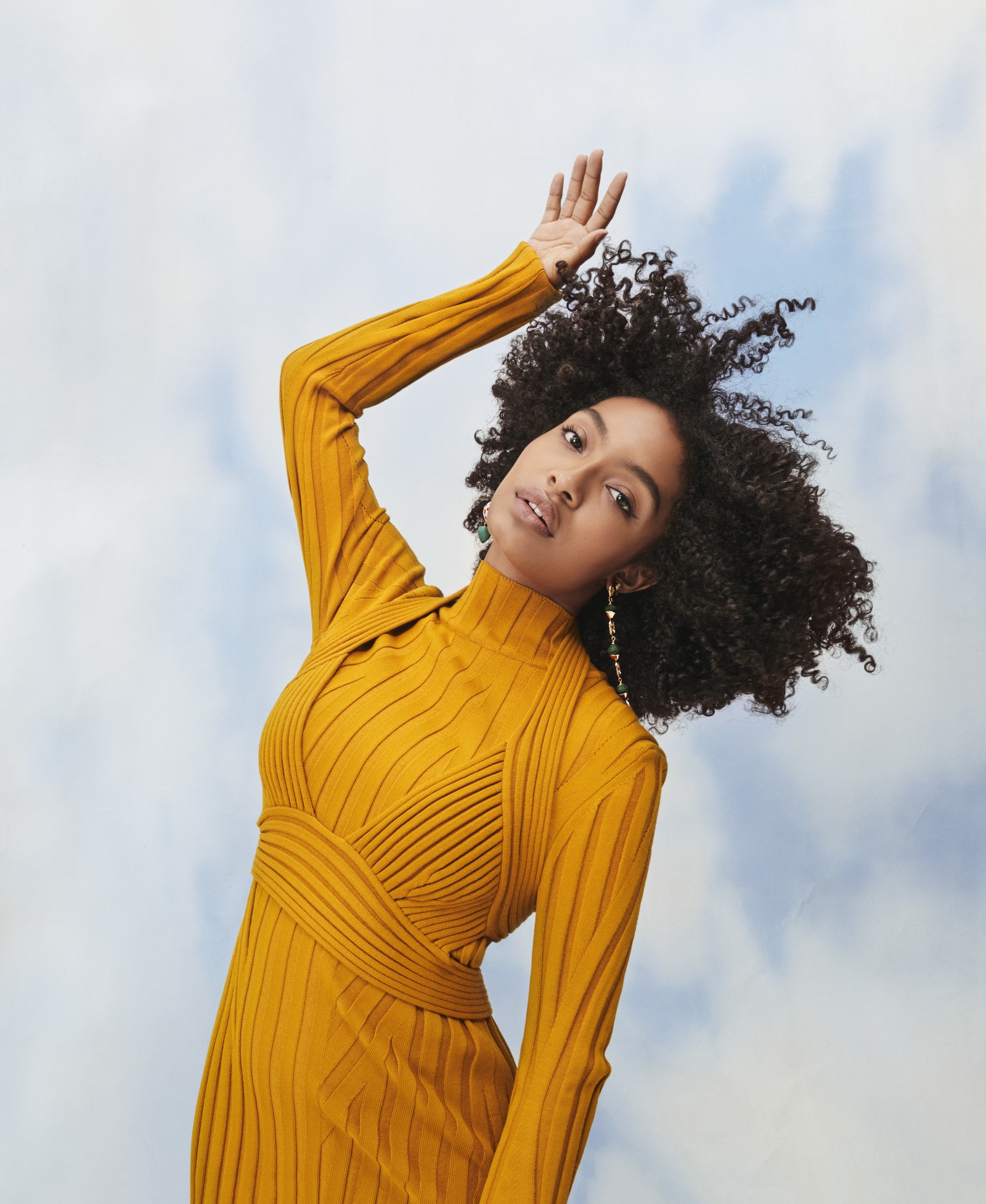 Yara Shahidi for Glamour Women of the Year 2019.