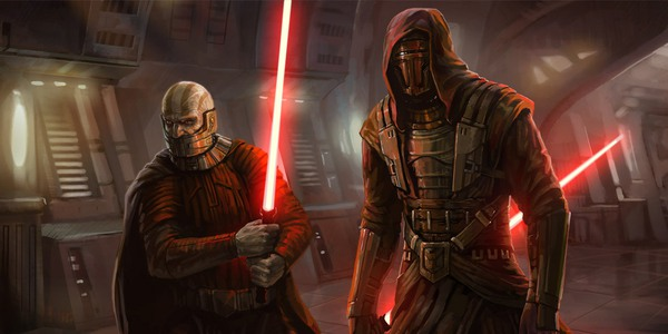 Darth Malek and Darth Revan