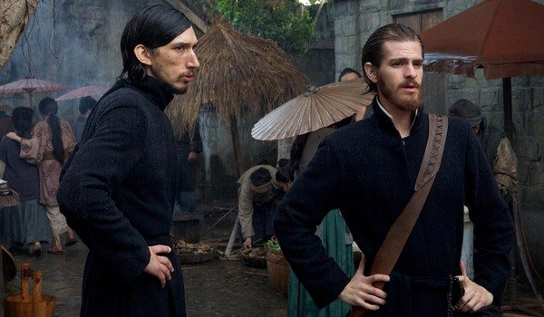 Adam Driver and Andrew Garfield in Silence