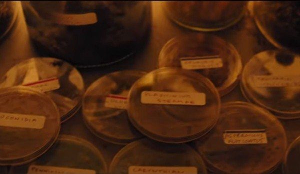 Petri dishes in Ghostbusters: Afterlife