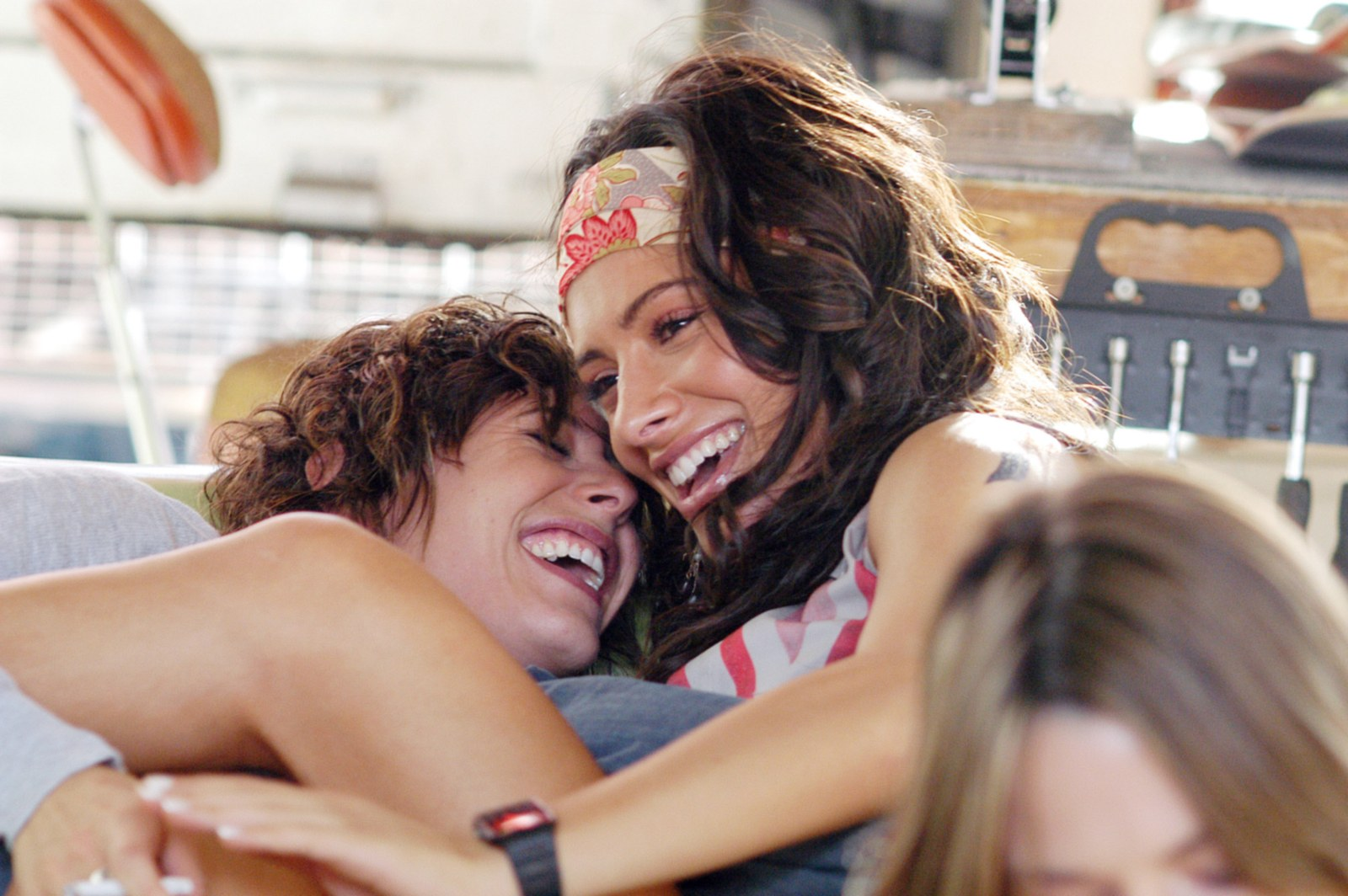 A scene from The L Word