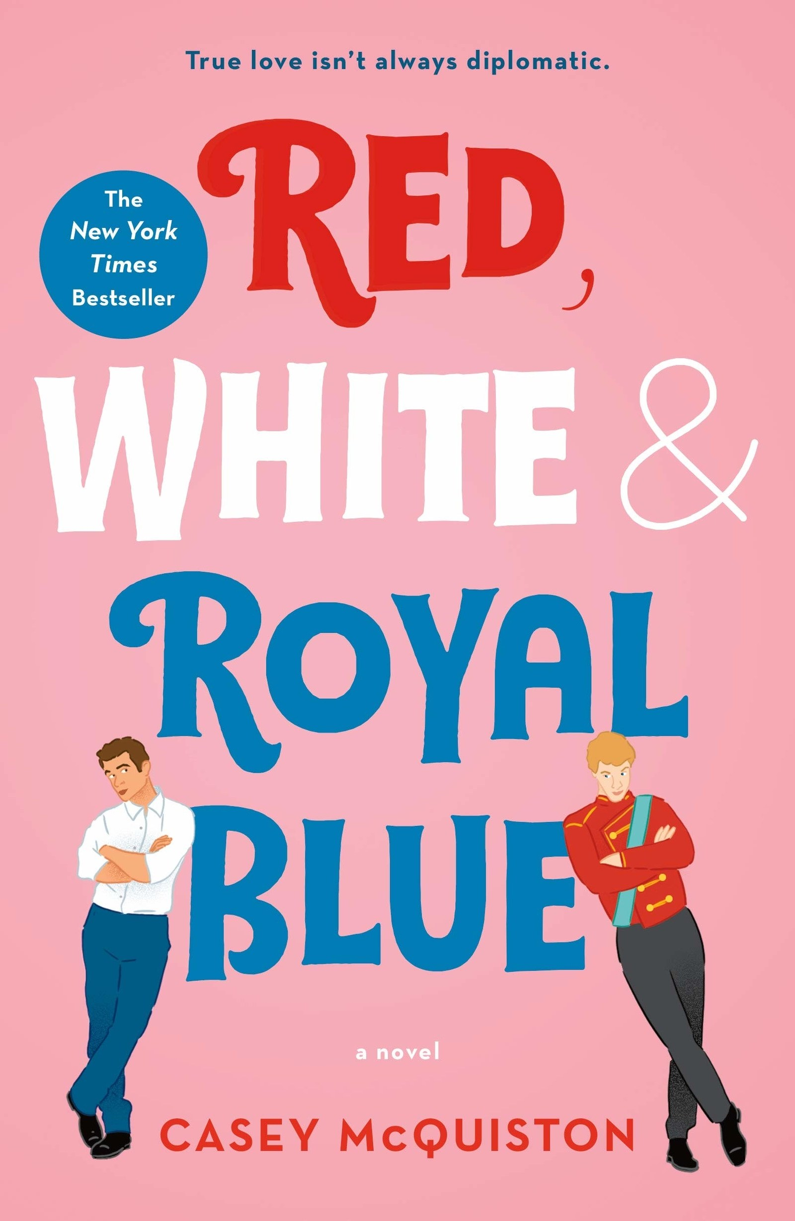 Red White Royal Blue cover