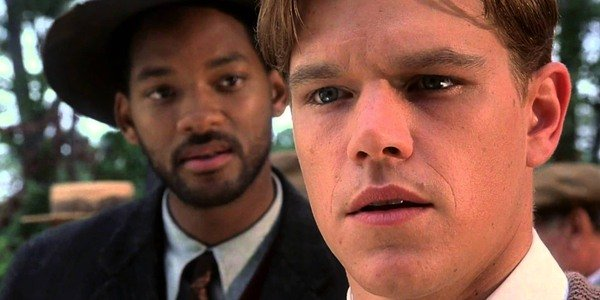 Will Smith helps Matt Damon in The Legend of Bagger Vance