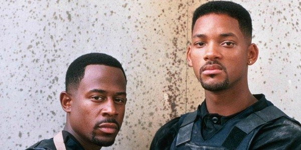 Martin Lawrence and Will Smith in Bad Boys