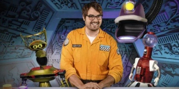 Jonah Ray hosts Netflix's revival of Mystery Science Theater 3000