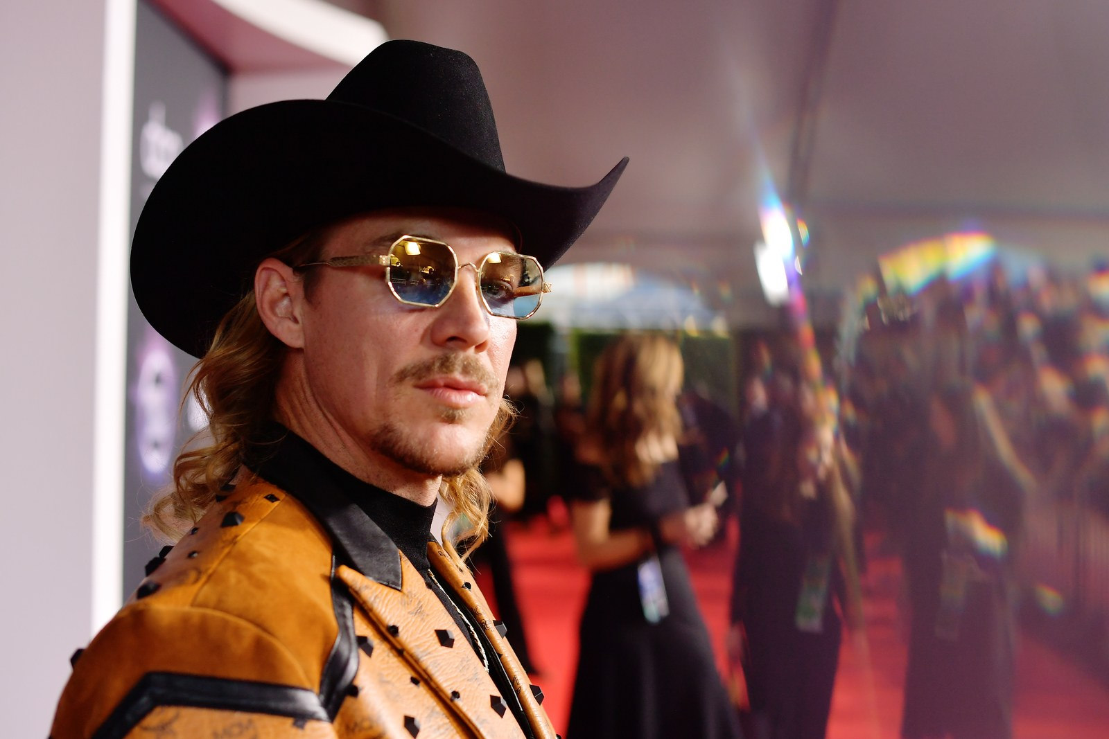 Diplo attends the 2019 American Music Awards at Microsoft Theater on November 24 2019 in Los Angeles California.