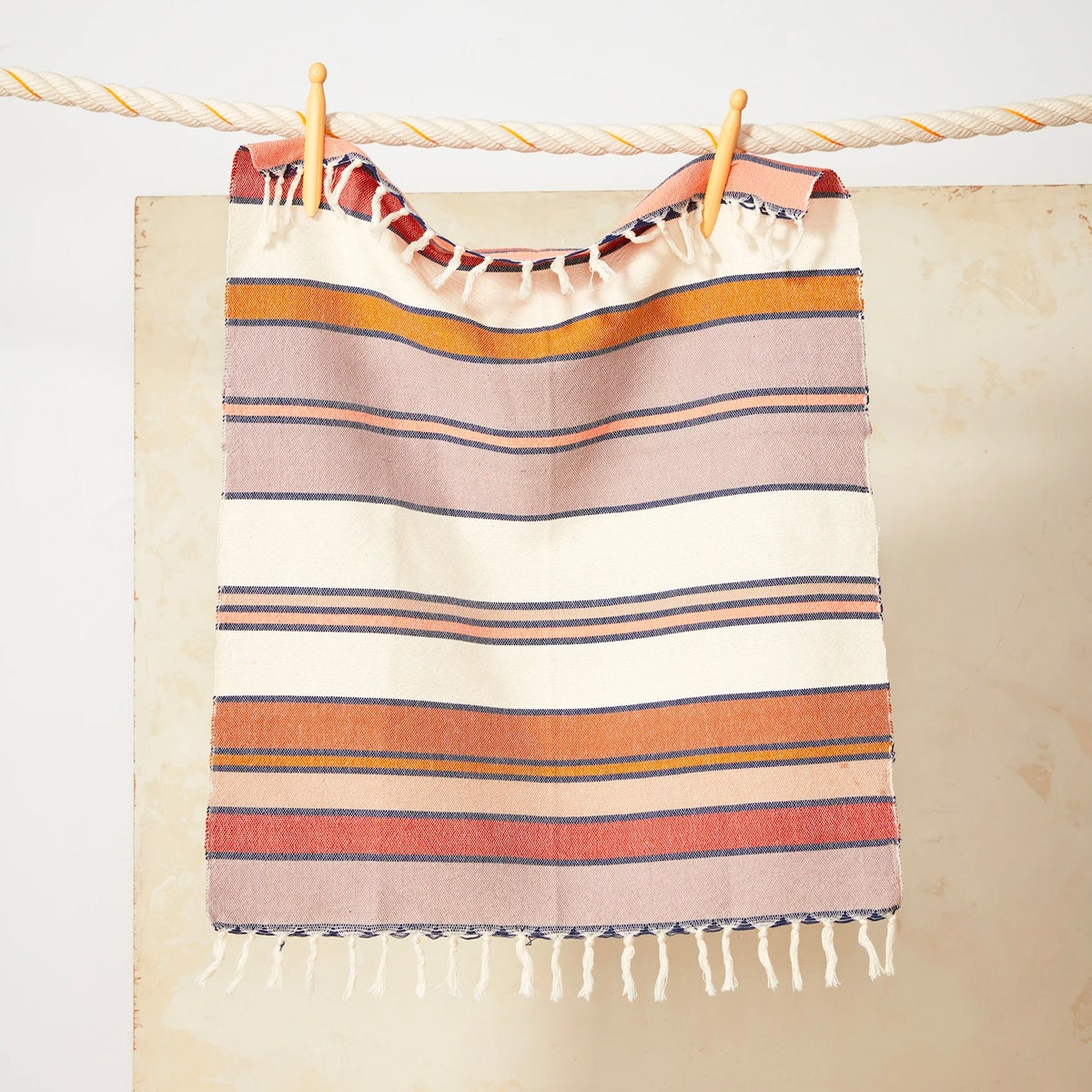 minna sunrise stripe towel