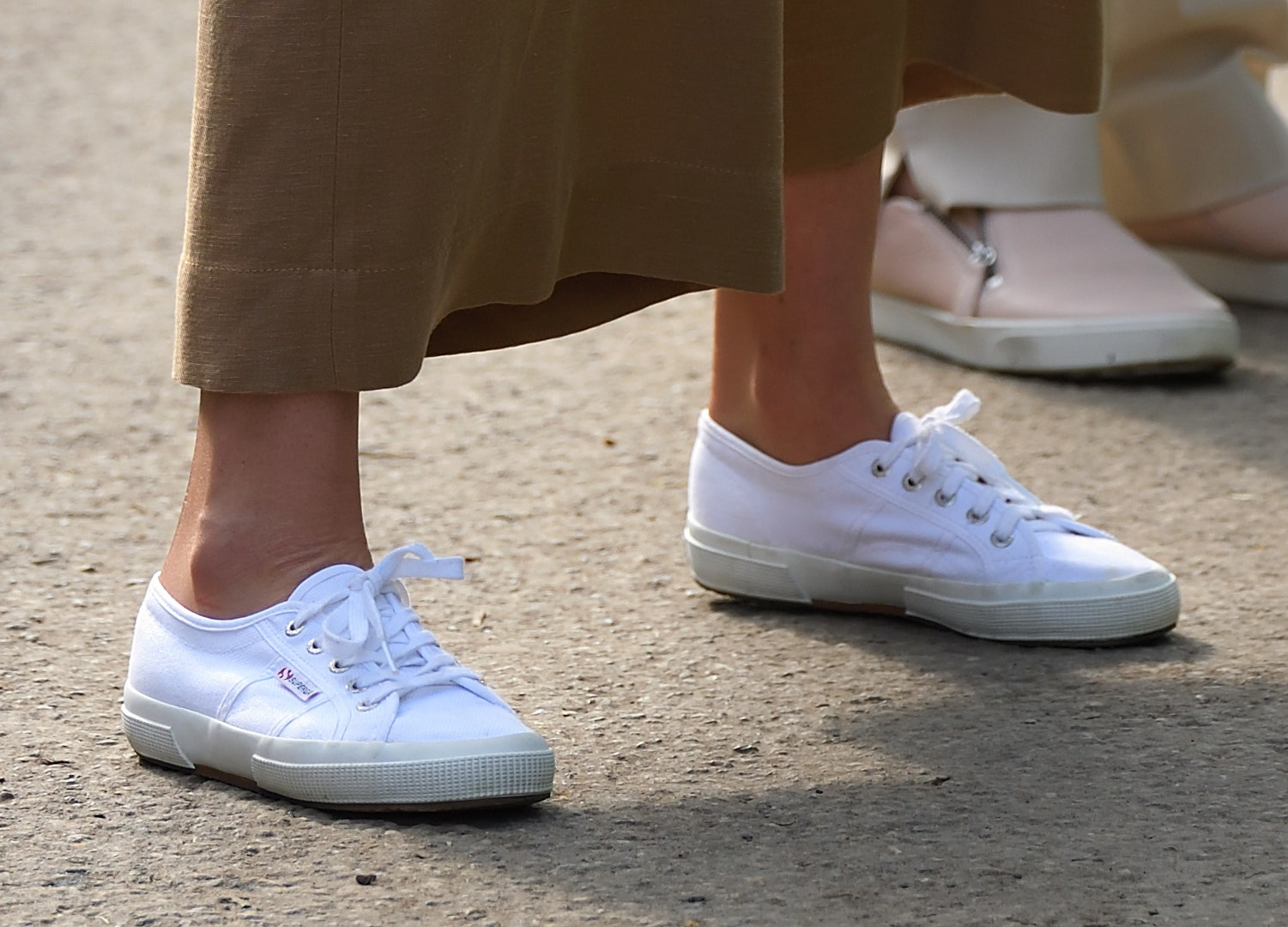 Kate Middleton's sneakers at the 2019 Chelsea Flower Show
