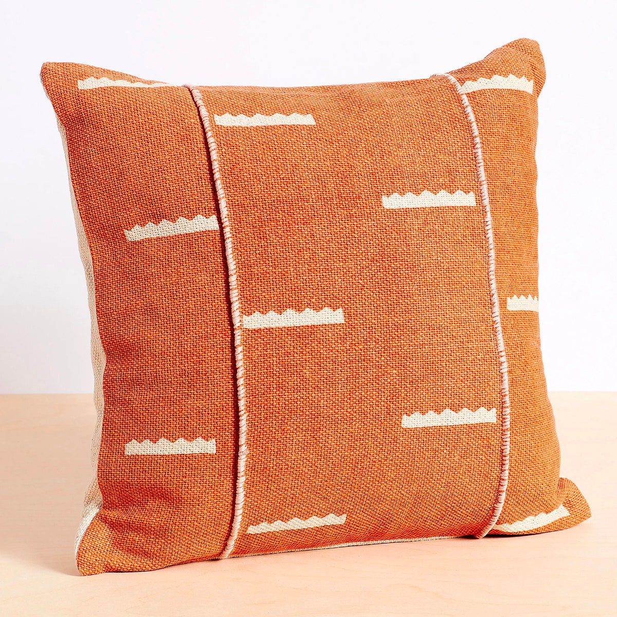 Allswell Crowns Textured Pillow