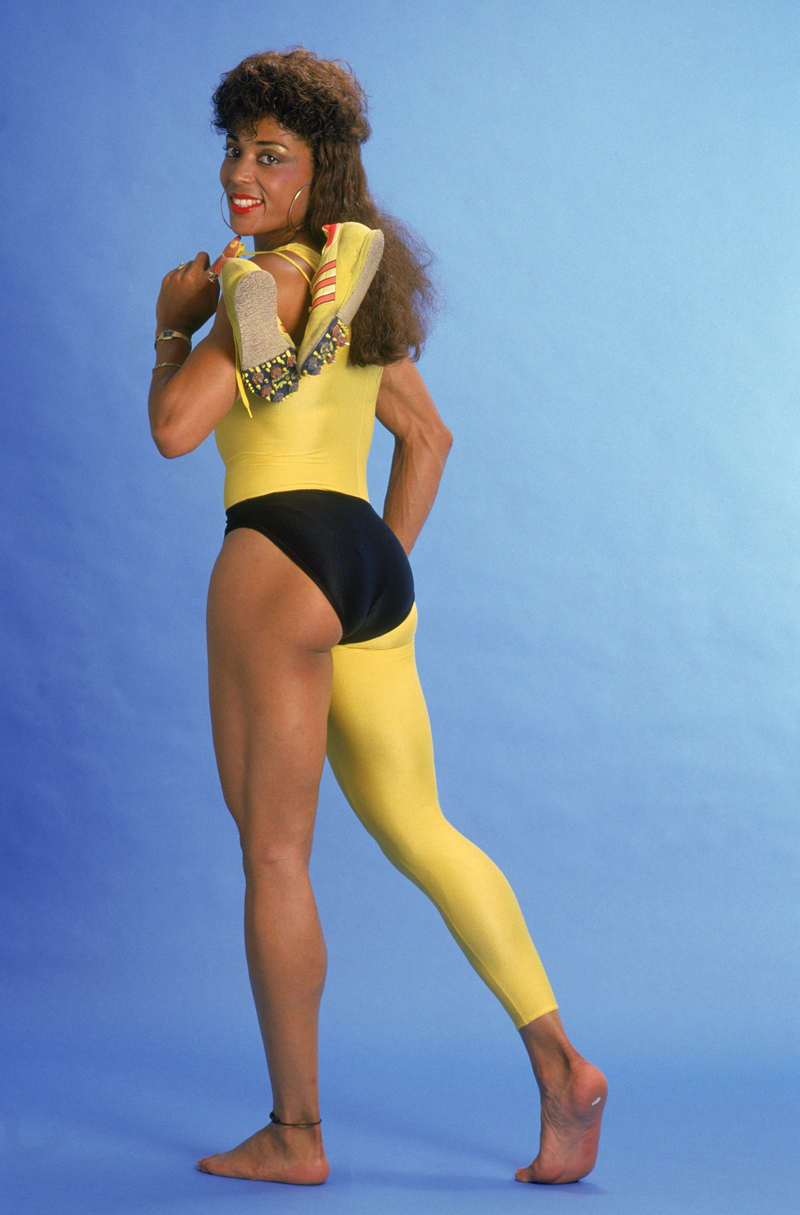 1988 Florence Griffith Joyner poses for a portrait in 1988.