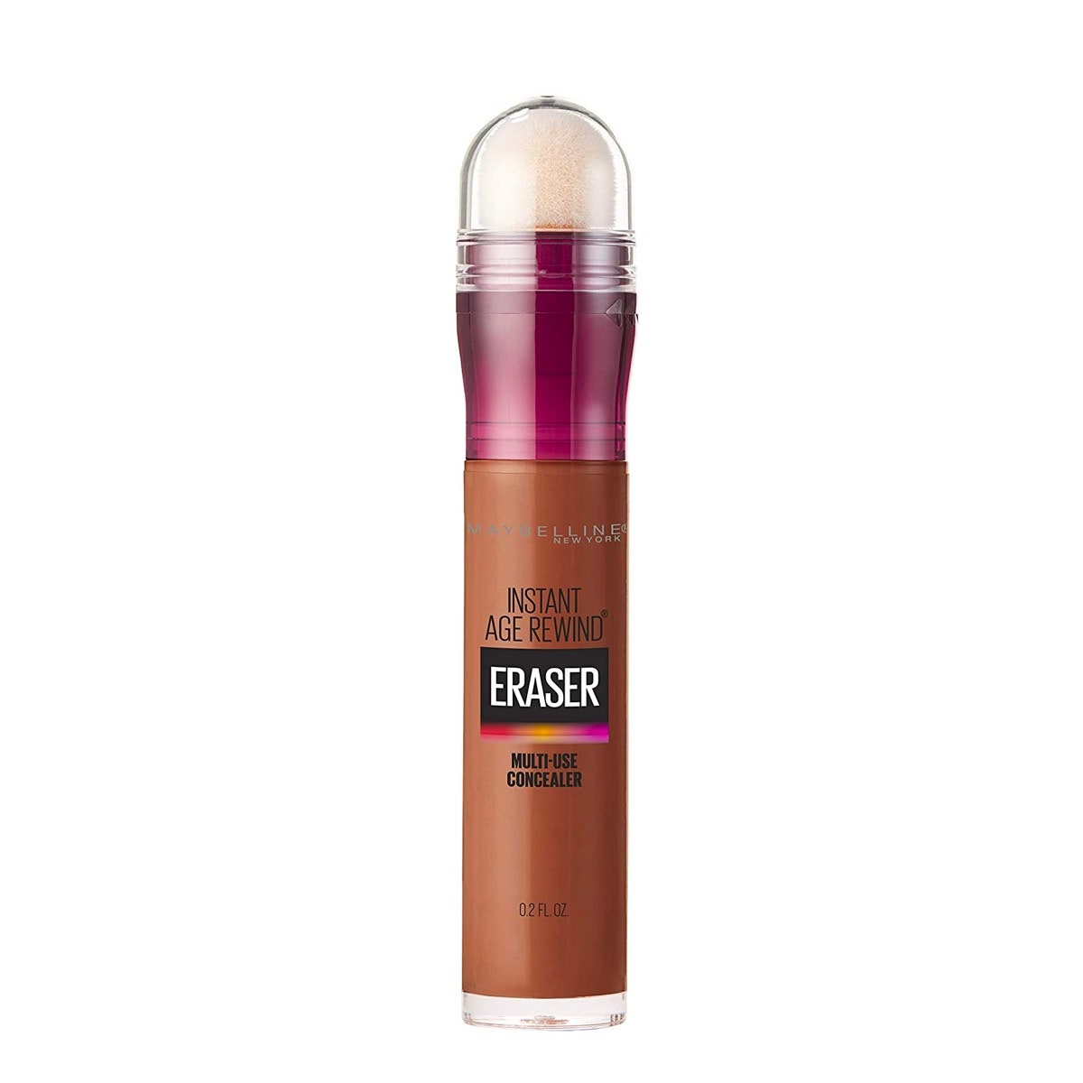 A tube of Maybelline Instant Age Rewind Concealer on a white background
