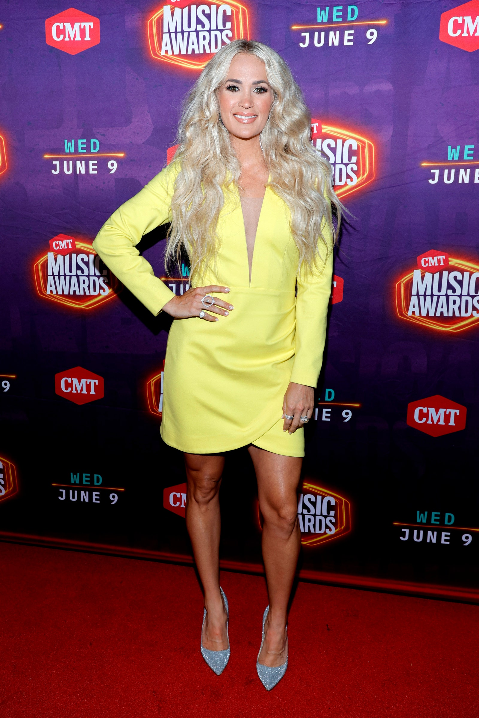 Image may contain Human Person Fashion Carrie Underwood and Premiere