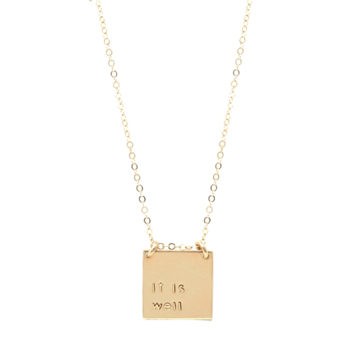 Able Phrase Necklace